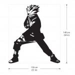 สติกเกอร์ติดผนัง นินจานารูโตะ  Kakashi Hatake from Naruto Wall Sticker