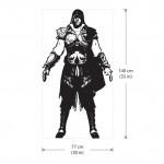 สติกเกอร์ติดผนัง Assassin's Creed 2 Ezio Wall Sticker