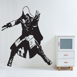 Assassin's Creed 2 Ezio Action Vinyl Wall Art Decal (WD-0346)