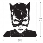Michelle Pfeiffer as Catwoman Vinyl Wall Art Decal