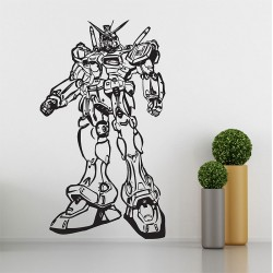 Gundam RX78 Robot Vinyl Wall Art Decal (WD-0353)