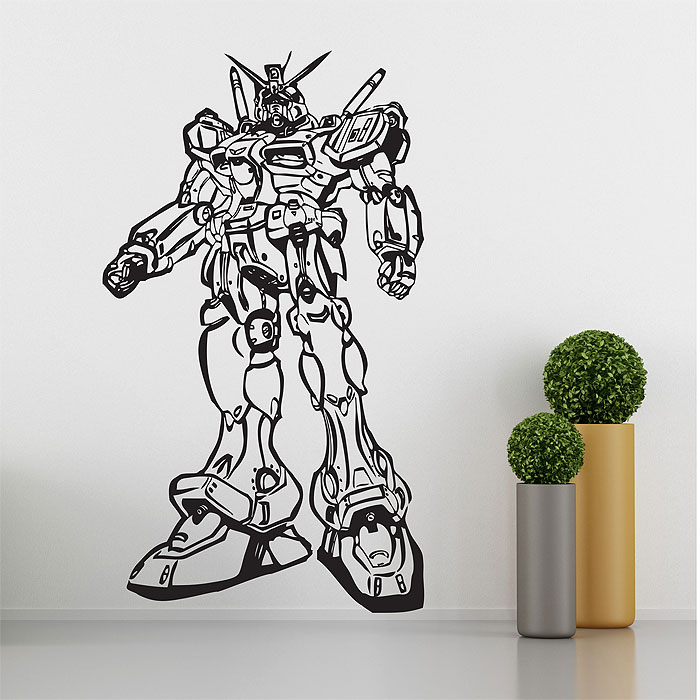 Tattoo Wall Art rx78 robot vinyl wall art decal