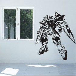 Gundam Zero Wing Vinyl Wall Art Decal (WD-0354)