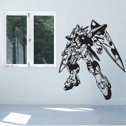 สติกเกอร์ติดผนัง Gundam Zero Wing Wall Sticker (WD-0354)
