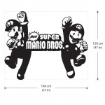 New Super Mario Bros Vinyl Wall Art Decal