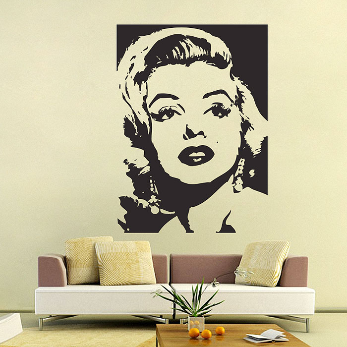 Marilyn Monroe Vinyl Wall Art Decal Part 37