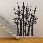 สติกเกอร์ติดผนัง Bamboo Tree Wall Sticker