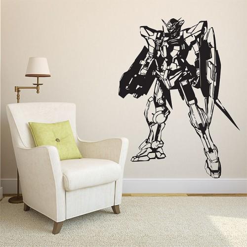 สติกเกอร์ติดผนัง GN001 Gundam Exia Wall Sticker