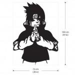 สติกเกอร์ติดผนัง  นินจานารูโตะ Sasuke Curse Mark - Naruto Wall Sticker