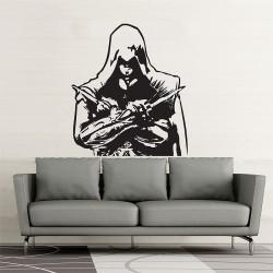 สติกเกอร์ติดผนัง Assassin's Creed Brotherhood half Wall Sticker (WD-0370)
