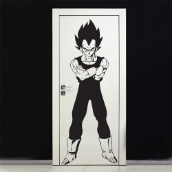 Dragon Ball Z Vegeta Super Saiya Vinyl Wall Art Decal (WD-0376)