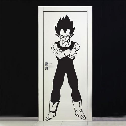 สติกเกอร์ติดผนัง Dragon Ball Z Vegeta Super Saiya Wall Sticker