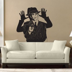 สติกเกอร์ติดผนัง Steve Martin Dead Men Don't Wear Plaid Film Wall Decal (WD-0377)
