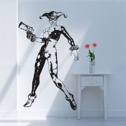 Harley Quinn Reloaded Vinyl Wall Art Decal (WD-0378)