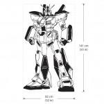 สติกเกอร์ติดผนัง Alex Gundam G-4 Roboter Wall Sticker