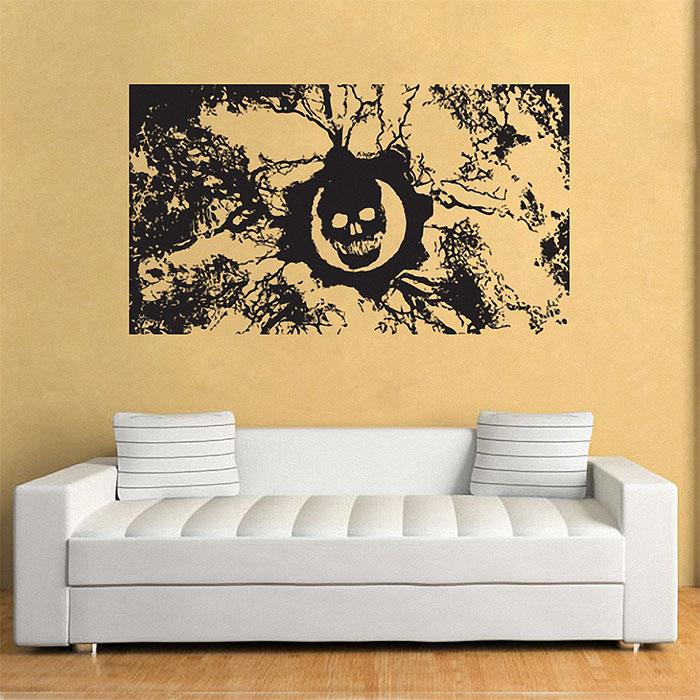 Gear Of War Vinyl Wall Art Decal