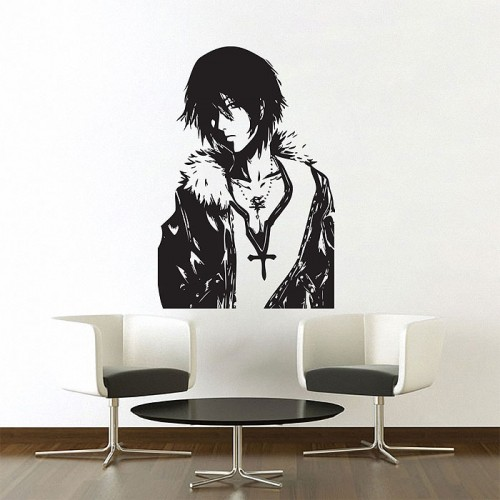 สติกเกอร์ติดผนัง Squall Leonhart V.1 Final Fantasy VIII Wall Sticker
