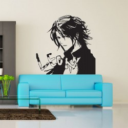 สติกเกอร์ติดผนัง Final Fantasy VIII Squall Leonhart Wall Sticker (WD-0384)
