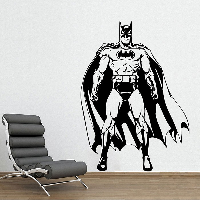 batman awesome wandaufkleber wandtattoo