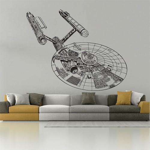Star Trek Vinyl Wall Art Decal