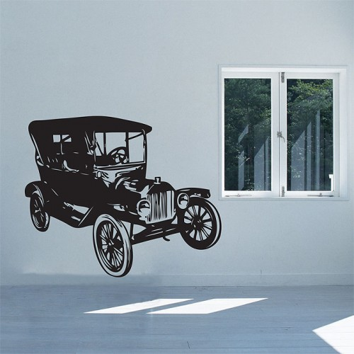 Car Vintage FORD Model EST. 1908  Vinyl Wall Art Decal