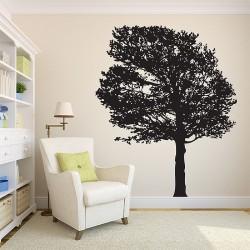 สติกเกอร์ติดผนัง ต้นไม้ Tree Silhouette Autumn Wall Sticker (WD-0395)