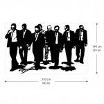สติกเกอร์ติดผนัง Reservoir Dogs Film Wall Sticker