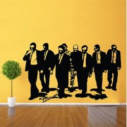 สติกเกอร์ติดผนัง Reservoir Dogs Film Wall Sticker (WD-0397)