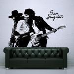 สติกเกอร์ติดผนัง Bruce Springsteen Born to Run Wall Sticker