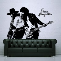 Bruce Springsteen 80s Pop folk rock n roll Vinyl Decal indoor outdoor
