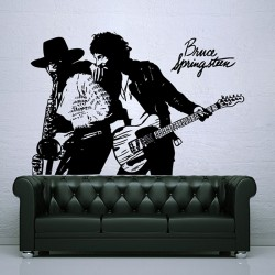 สติกเกอร์ติดผนัง Bruce Springsteen Born to Run Wall Sticker (WD-0400)