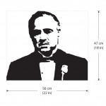 สติกเกอร์ติดผนัง The Godfather Wall Sticker