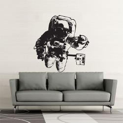 Astronaut Vinyl Wall Art Decal (WD-0409)