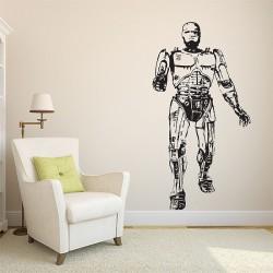 สติกเกอร์ติดผนัง โรโบคอป Robocop  Wall Sticker (WD-0411)