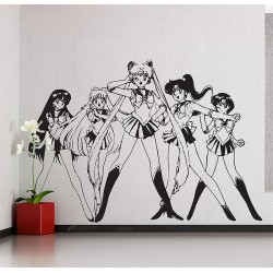 Sailor Moon Vinyl Wall Art Decal (WD-0412)