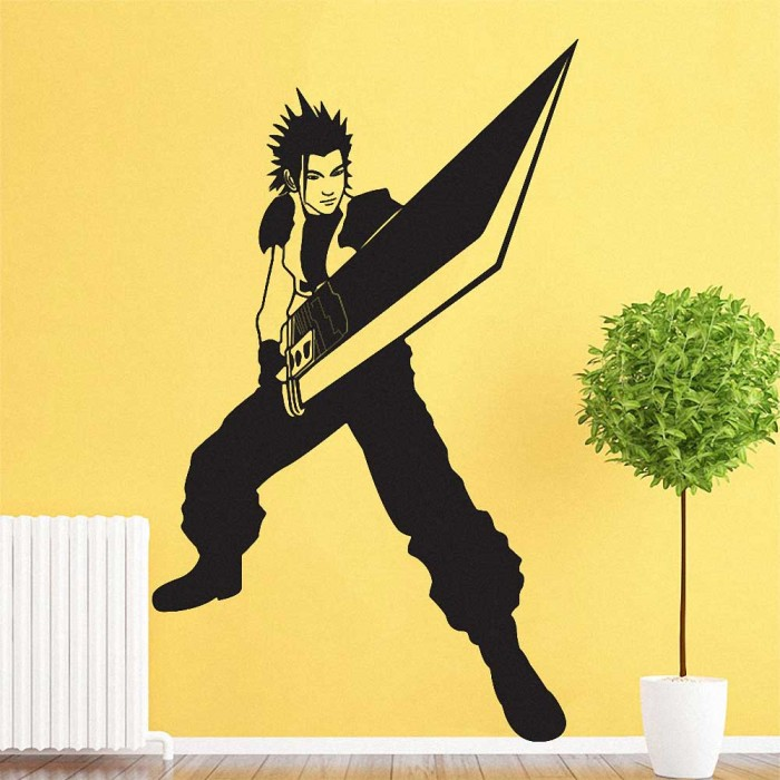 Fair Final Fantasy Vinyl Wall Art Decal