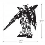 สติกเกอร์ติดผนัง Gundam XXXG-01W Wing Wall Sticker