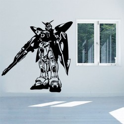 Gundam XXXG-01W Wing Vinyl Wall Art Decal (WD-0422)