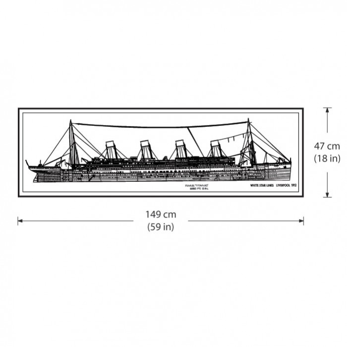 ... The Titanic Vinyl Wall Art Decal  sc 1 st  Art2Click & The Titanic Vinyl Wall Art Decal