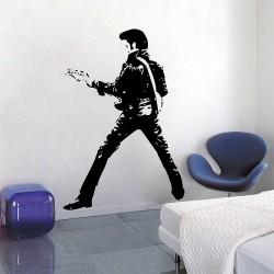 สติกเกอร์ติดผนัง  เอลวิส เพรสลีย์ Elvis Presley Wall Sticker (WD-0433)