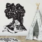 สติกเกอร์ติดผนังAlice in Wonderland / Wall Sticker