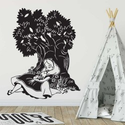Alice in Wonderland  Vinyl Wall Art Decal (WD-0437)