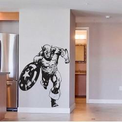 สติกเกอร์ติดผนัง The Avengers Captain America Wall Sticker (WD-0442)