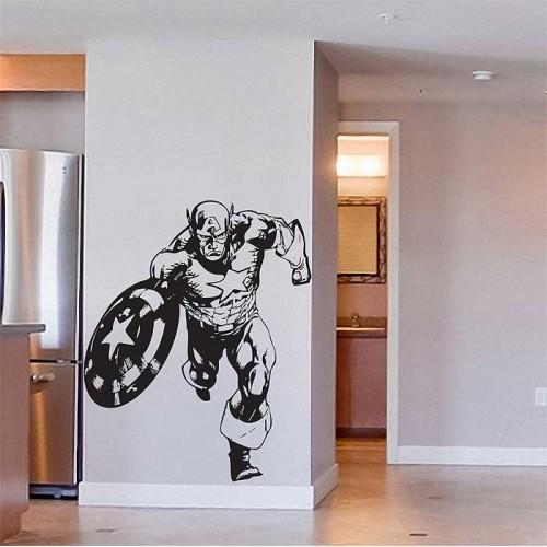 สติกเกอร์ติดผนัง The Avengers Captain America Wall Sticker