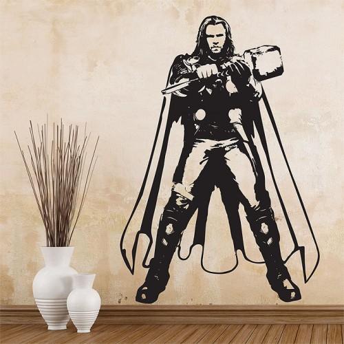 thor chris hemsworth the avengers vinyl wall art decal