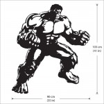 Hulk The Avengers Vinyl Wall Art Decal