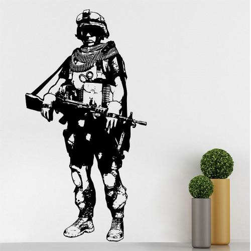 สติกเกอร์ติดผนัง Battlefield 3 Wall Sticker