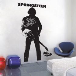 สติกเกอร์ติดผนัง Bruce Springsteen Born to Run Wall Sticker (WD-0451)