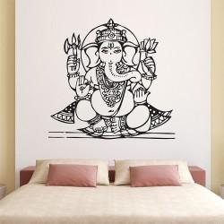 Ganesha Goddess2 Vinyl Wall Art Decal (WD-0453)