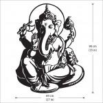 สติกเกอร์ติดผนัง God Ganesha Wall Sticker